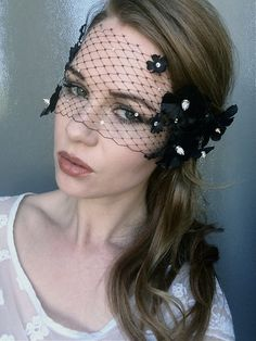 Items similar to Halloween Black Mask with Flowers and Silver Spikes - Masquerade Ball Black and Silver mask - Lade Gaga Lace Mask on Etsy Mascarade Mask, Masquerade Ball, Silver Mask, Lace Mask, Halloween Outfits, Photoshoot Ideas, Crowns, Hair Pins, Costume Ideas