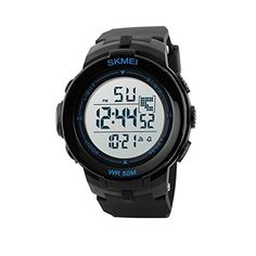 Frugal Skmei Outdoor Compass Watch Waterproof Chrono Countdown Led Digital Men Sports Watches Multifunction Men Wristwatches Good Reputation Over The World Men's Watches
