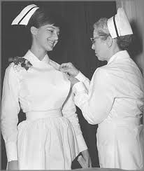 ¡¡VIVA EL ALMIDÓN!! Graduating nurse, St. Catharines General Hospital, Mack Training School for Nurses, 1965.