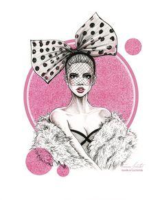 """Fancy"" - Tania Santos Fashion & Illustration"