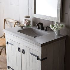 Native Trails Palomar 36 in. Vanity Top with Integral Sink