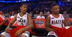Damian Lillard, Trey Burke Win NBA All-Star Skills Challenge