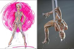 Pink in a #BobMackie bodysuit...who can ever forget that incredible Grammy performance?