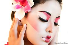 Geisha Eye Makeup | Portfolio | Chicago Based Makeup Artist