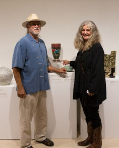 Richard Gruchalla andCarrin Rosetti with theirOpen Vase with Postcards (2012)