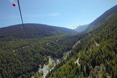 The Sasquatch zipline, the closest you can get to ziplining the Peak 2 Peak! #Whistler #Ziptrek #adventure #zipline #travel