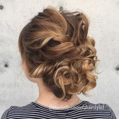 A little wedding hairstyle inspiration for you going into wedding season! Work by Jenny Strebe of The Confessions of a Hairstylist using Kenra Professional products. #weddinghair #updo #upstyle #bridalhair #modernsalon #btcpics #kenraprofessional