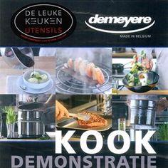 WIST U DAT? De Leuke Keuken ook leuke kookdemonstraties organiseert? 20 en 21 juni is het weer zover :-) De wokpan van Demeyere en de Slowjuicer van VerSapers worden gedemonstreerd. Meer info over inschrijving? Bel met 0299-373636 of mail naar info@deleukekeuken.nl. Even langs komen in de winkel vinden wij natuurlijk ook heel LEUK ;-)