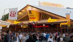 Hofbrau House at Volksfest in Stuttgart - Vacations Of Inspiration Army Brat, Stuttgart Germany, Beer Garden, Beautiful Sunrise, Places Ive Been, Vacations, Favorite Recipes, Strong, House
