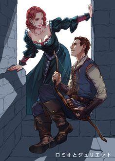 medieval Clint x Natasha fanart「【腐向け】アベンジャーズ詰め」/「ぷくん」の漫画 [pixiv]