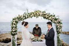 Creta Maris offers plenty of seaside settings that are ideal for symbolic romantic weddings by the sea. Crete, Romantic Weddings, Seaside, Wedding Dresses, Holiday, Style, Bride Dresses, Swag, Bridal Gowns