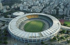 Estádio do Maracanã is one of the world's largest soccer stadiums. We have to see a match here!