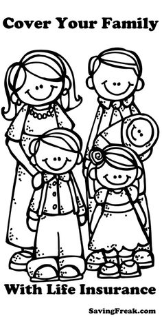 Melonheadz LDS illustrating: New Eternal Family Graphics:) Sunbeam lesson 23 I belong to a family Lds Clipart, Cute Clipart, Family Clipart, Girl Clipart, Family Coloring Pages, Colouring Pages, My Happy Family Quotes, Lds Primary, Clipart Black And White