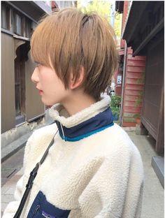Asian Short Hair, Edgy Hair, Asian Fashion, Asian Woman, Hair Inspiration, Salons, Short Hair Styles, Hair Cuts, Hair Color