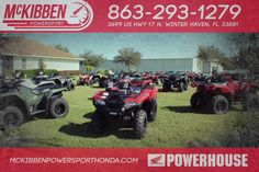 New 2017 Honda FourTrax Rancher 4x4 Auto DCT IRS E ATVs For Sale in Florida. 2017 HONDA FourTrax Rancher 4x4 Auto DCT IRS E, McKibben Powersport Honda is a family owned and operated dealership in Winter Haven, Florida. We are located at 3699 US HWY 17 N Winter Haven Fl, 33881 between US HWY 92 and Havendale Blvd. We proudly serve Polk county and the surrounding areas, to include Lakeland, Auburndale, Bartow, Kissimmee, Lake Alfred, and Sebring. We are a Honda Powerhouse Dealer and we…