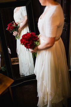 Unique wedding in Brooklyn, photos by Priya Patel Photography | junebugweddings.com Bride wore BHLDN #BHLDNbride
