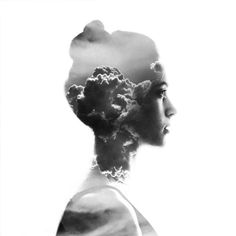 Aneta Ivanova è l'autrice di questi scatti evocativi e ipnotici che sfruttano l'artificio della doppia esposizione