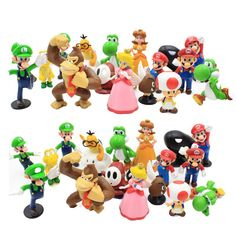 Super Mario Soft Plush Toy-votre Choice 4 Classic ennemis ou Set-Nouveau