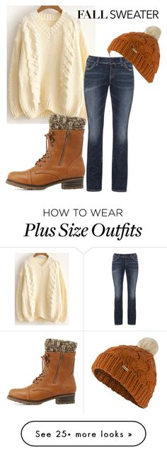 """""""Sweater Weather"""" by shelby-michelle-raft on Polyvore featuring Charlotte Russe, Silver Jeans Co. and Barbour"""