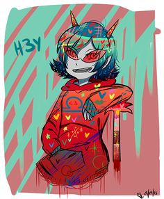 Terezi Pyrope  -----  I cannot access the artist's tumblr where this is posted…