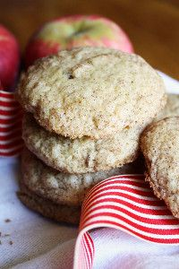 It's always a good time for apple dessert recipes! Soft Apple Cinnamon Cookies are one of the best apple desserts because they use fresh fruit! They're the perfect recipe for fall!