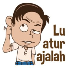 Aye betawi asli 2 – LINE stickers Cartoon Smile, Cartoon Jokes, Thank You Images, Anime Muslim, Adventure Film, Quotes Indonesia, Line Store, Funny Stickers, Line Sticker