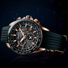 The Seiko Astron GPS Solar 8X Series Dual-Time review by The Watch Guide gives you a detailed account of measuring time with precision. Discover the entire Astron collection at Ethos Watch Boutiques.