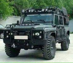 Image result for land rover africa accessories wagon off road loaded