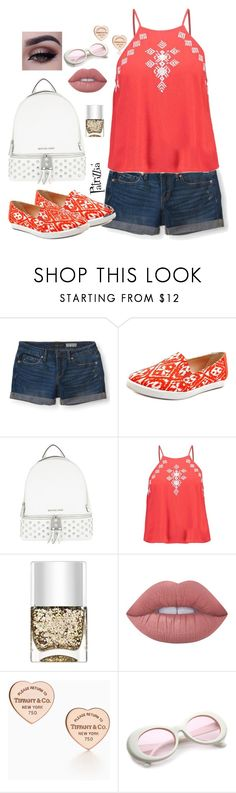 Patrizzia19.07.2017a by patrizzia on Polyvore featuring moda, Aéropostale, Giani Bernini, MICHAEL Michael Kors, Lime Crime, Nails Inc. and patrizziapolyvore