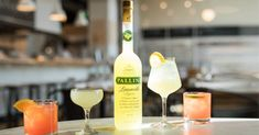 Three beautiful gin and limoncello cocktails — Craft Gin Club Best Martini Recipes, Gin Recipes, Cocktail Recipes, Cooking Recipes, Limoncello Cocktails, Limoncello Recipe, Cointreau Cocktails, Martinis, Easy Summer Cocktails
