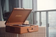 Backed by over 100 years of manufacturing high-quality audio products, Electrohome is pleased to introduce the Archer Turntable Stereo System: a fully automatic turntable with built-in speakers housed in a suitcase that blends vintage charm with Retro Record Player, Record Players, Automatic Turntable, Built In Speakers, Archer, Vinyl Records, Retro Vintage, Wax, Classic