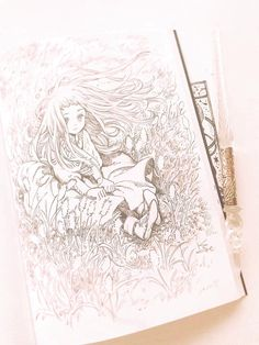 Discover recipes, home ideas, style inspiration and other ideas to try. Manga Drawing, Drawing Sketches, Art Drawings, Fantasy Kunst, Fantasy Art, Anime Kunst, Anime Art, Art And Illustration, Pretty Art