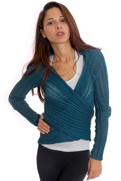 I'd love to knit one of these.  Ioanna Kourbela created a very cool sweater!