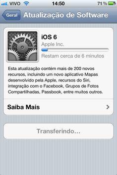 Vale a pena atualizar para o iOS 6?