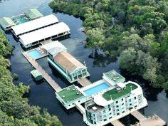 Hotel in the Amazon jungle - Brazil