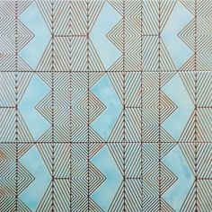 Kismet ceramic tile design - Diary of a Tile Addict Encaustic Tile, Floor Patterns, Hospitality Design, Floor Decor, Tile Design, Wall Tiles, White Ceramics, Interior Design, Prints