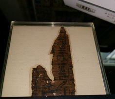 Hieratic Papyrus Fragment dunsmore9 Updated: 7/18/2015 Ebay