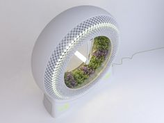 The Green Wheel Rotary Garden by Design Libero