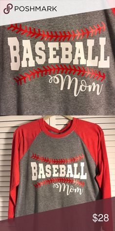 Baseball Mom Raglan T Shirt Baseball Shirts For Moms, Sports Mom Shirts, Baseball Crafts, Softball Shirts, Baseball Quotes, Baseball Boys, Baseball Gear, Baseball Uniforms, Baseball Players