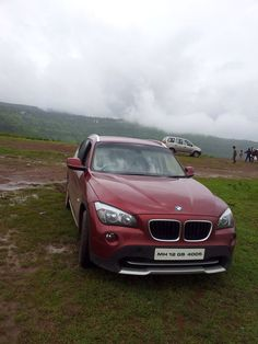 The #BMW x1 my love. #pune #carrentalspune  Beautiful red, great for outdoors, amazing interiors, exhilarating pick up that throws you back into the seat with the g-forces. www.rentacarpune.com