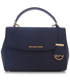 Michael Kors Ava Small Top Handle Satchel Navy Bag MICHAE... http://www.amazon.com/dp/B00TH3IQCK/ref=cm_sw_r_pi_dp_V7koxb0PCSVZJ
