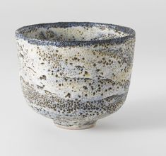 "Gertrud and Otto Natzler - ""CRATER"" BOWL"