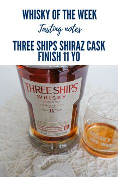 Review and tasting notes for the Three Ships Shiraz Cask Finish 11 yo Single Malt whisky Whisky Tasting, Single Malt Whisky, Distillery, Ships, Notes, It Is Finished, Boats, Report Cards, Notebook