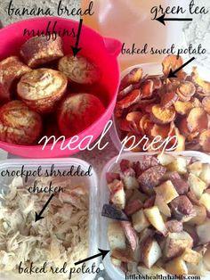 Clean eating meal prep!