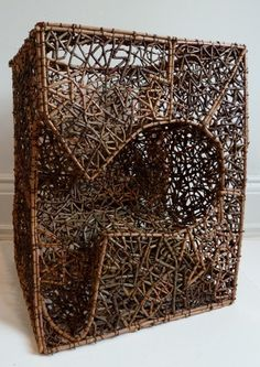 John McQueen Two Fisted Basket,...