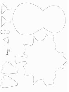 Thanksgiving Crafts - Print your Turkey Template at AllKidsNetwork.com