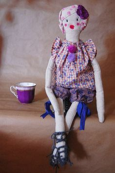 Odette doll from Eagle and Phoenix Goods etsy