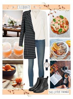"""// I'll wake with coffee in the morning, But she prefers two lumps of sugar and tea //"" by little-miss-rhapsody ❤ liked on Polyvore featuring West Elm, Frame Denim, Michael Kors, Monki, FOSSIL and natjulieta"