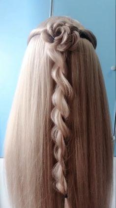 Elvish Hairstyles, Medieval Hairstyles, Cute Hairstyles, Braided Hairstyles, Wedding Hairstyles, Easy Hairstyles For Medium Hair, Braids For Long Hair, Medium Hair Styles, Long Hair Styles