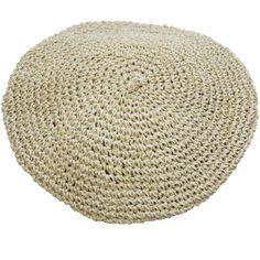 Bast-Barett natur Vintage Stil, Blossoms, Fascinator, Nude, Colours, Beige, Cold, Knitting, Hats